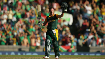AB de Villiers now has the fastest fifty, hundred and 150 in ODI cricket