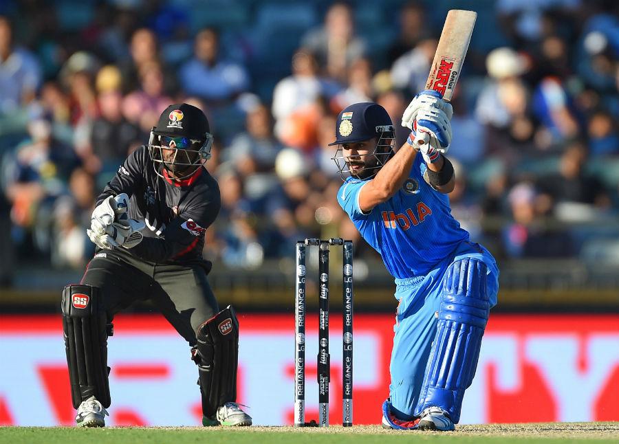 Image result for image of Virat Kohli playing