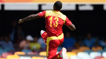 Tendai Chatara is over the moon after dismissing Ahmed Shehzad