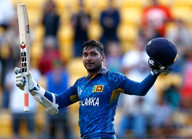 Kumar Sangakkara slammed his fastest ODI century