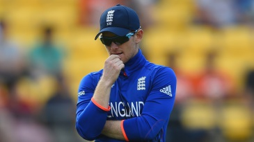 Clueless: Eoin Morgan ran out of answers
