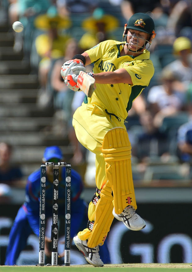 Can play it in his sleep: David Warner goes for a pull