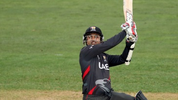 Shaiman Anwar registered his third fifty-plus score in four World Cup matches
