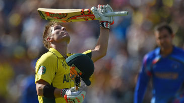 David Warner's 133-ball 178 was the highest score by an Australian in World Cups