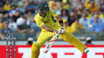 Glenn Maxwell shows off his knack for the unorthodox