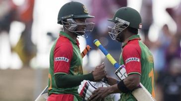 Shakib Al Hasan and Sabbir Rahman helped Bangladesh seal their highest ODI chase