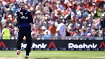 Daniel Vettori reached the landmark of 300 ODI wickets