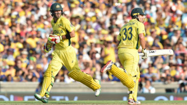 Glenn Maxwell and Shane Watson's 160-run stand came at 11.70 runs to the over