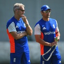 Peter Moores and Mark Ramprakash look on, World Cup 2015, Sydney, March 11, 2015