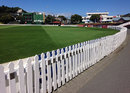 The picket fence around the Basin Reserve, Wellington, March 10, 2015