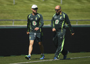 Michael Clarke and Alex Kountouris spend more time together, World Cup 2015, Hobart, March 12, 2015