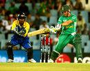 Kumar Sangakkara watches AB de Villiers cut a ball, South Africa v Sri Lanka, Champions Trophy, Group B, Centurion, September 22, 2009