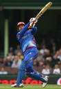 Shafiqullah goes on the attack, Afghanistan v England, World Cup 2015, Group A, Sydney, March 13, 2015