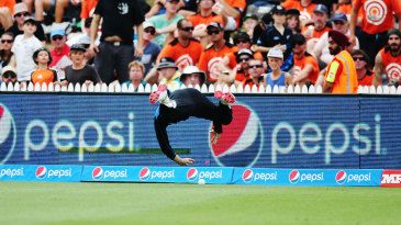Brendon McCullum once again gave his all at the field