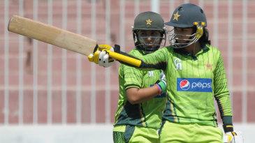 Bismah Maroof raises her eighth ODI half-century