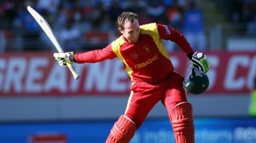Brendan Taylor was the first Zimbabwe player to score consecutive tons in a World Cup