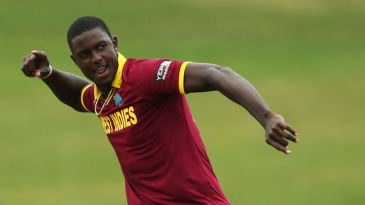 Jason Holder struck twice in the sixth over