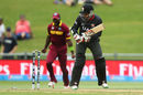 Khurram Khan turns back to find his leg stump missing, United Arab Emirates v West Indies, World Cup 2015, Group B, Napier, March 15, 2015