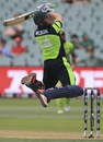 Gary Wilson goes air borne, Ireland v Pakistan, World Cup 2015, Group B, Adelaide, March 15, 2015
