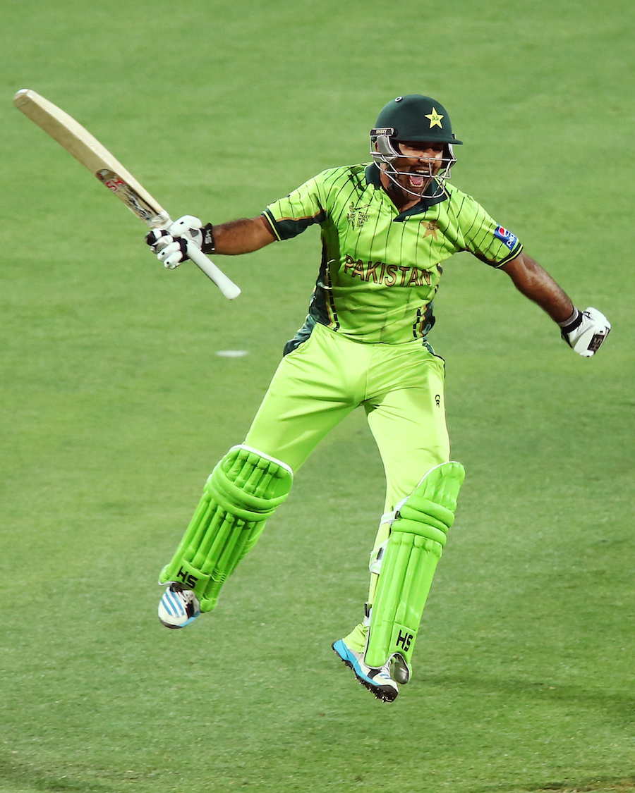 Sarfraz Ahmed is thrilled after completing his hundred