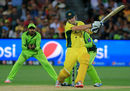 Shane Watson pulls in front of square, Australia v Pakistan, World Cup 2015, 3rd quarter-final, Adelaide, March 20, 2015