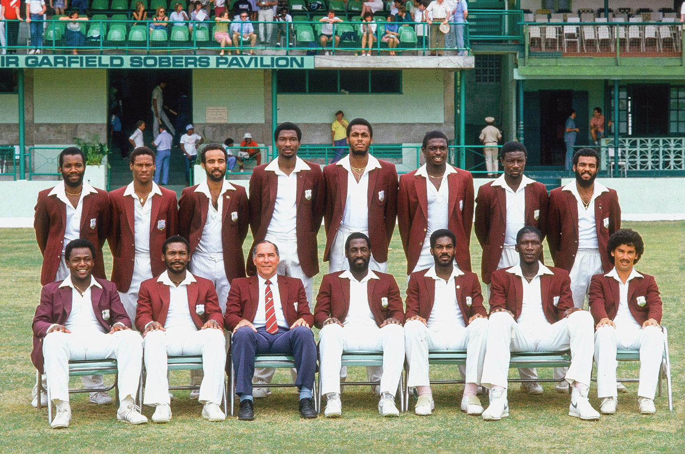 Mean in maroon: West Indies took hold of the Test crown and didn't give it up for well over a dozen years