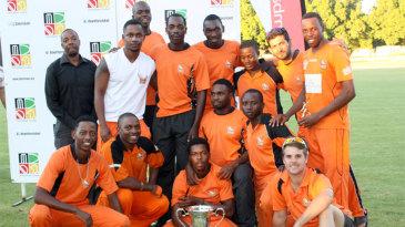 The victorious Mashonaland Eagles