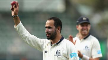 Fawad Ahmed took a record 8 for 89 in the Shield final