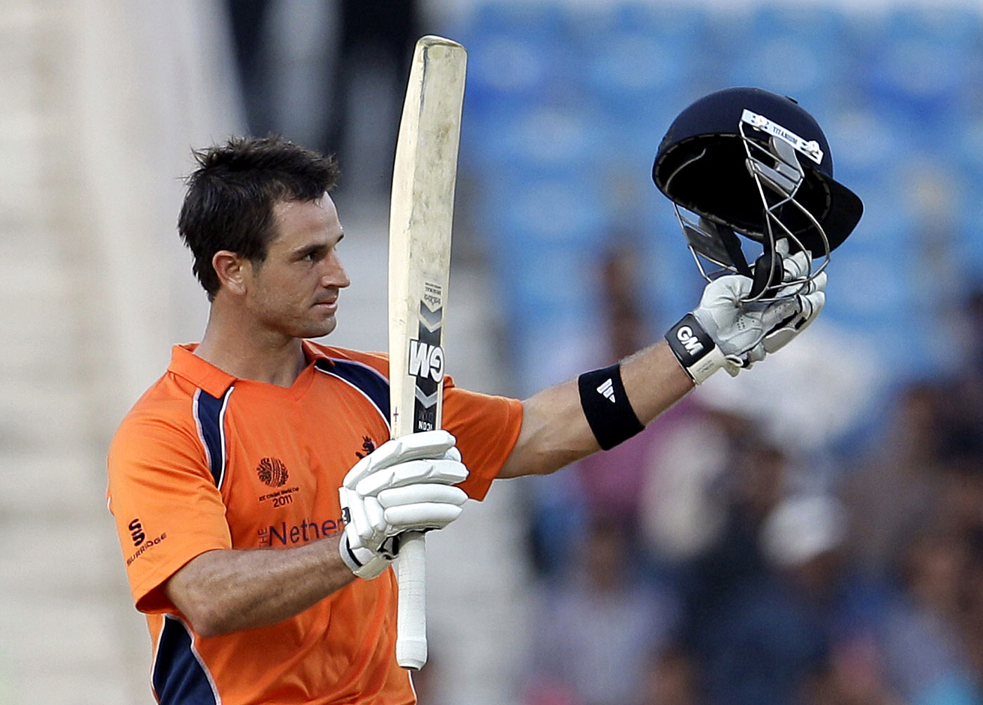 Frequent-flying Dutchman: Ryan ten Doeschate, one of the country's best cricketers, is a sought-after overseas pro in T20 leagues, but he hasn't played for Netherlands in nearly four years
