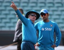 Duncan Fletcher and MS Dhoni plot India's route to the final, World Cup 2015, Sydney, March 22, 2015