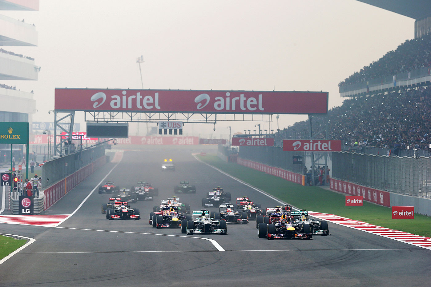 Brake for cash: Ecclestone walked away from the Indian Grand Prix when the authorities proposed taxing it as entertainment, not sport