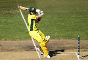 Steven Smith produced another creditable display at No. 3, even as Aaron Finch looked scratchy