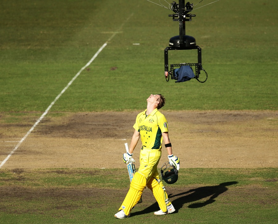 Smith coasted to 105 off 93 balls before he holed out to deep square leg off Umesh in the 35th over