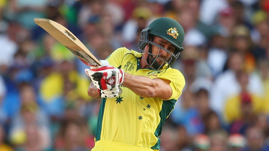 And Mitchell Johnson whacked 27 off nine balls to power Australia to 328, the highest World Cup semi-final score