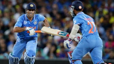 MS Dhoni and Ajinkya Rahane added 70 for the fifth wicket