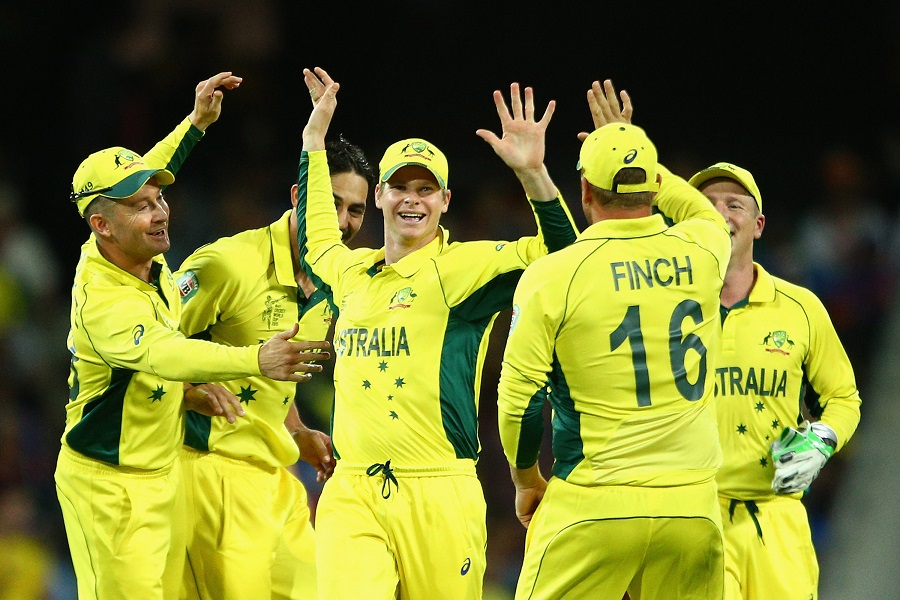 2015 World Cup : Australia overpowers India to advance to the final of the 2015 World Cup