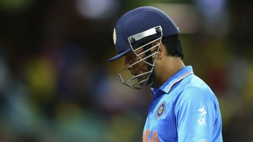 MS Dhoni and India crashed out of the World Cup