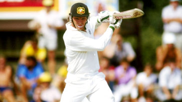 Dean Jones on his way to a double-hundred
