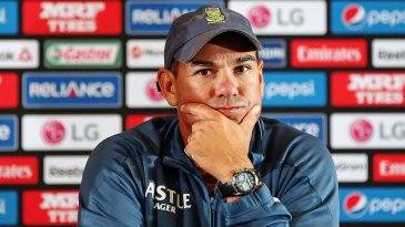 Russell Domingo at the post-match press conference