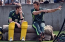Adam Gilchrist joined Australia in the nets, World Cup 2015, Melbourne, March 28, 2015