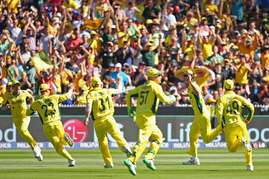 Australia in a final: Men at work, business as usual