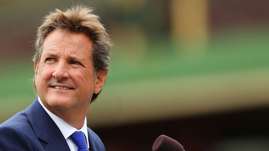 Cricket commentator Mark Nicholas taken to hospital for second time