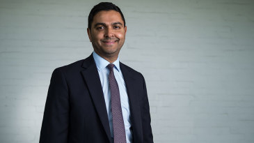 Wasim Khan, the new chief executive of Leicestershire