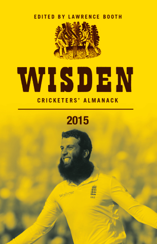 Cover of <i>Wisden Cricketers' Almanack</i> 2015