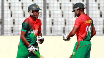 Bangladesh completed the chase with six overs to spare in Mirpur