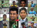 Composite of the 13 different opening partners of Tamim Iqbal, April 9, 2015