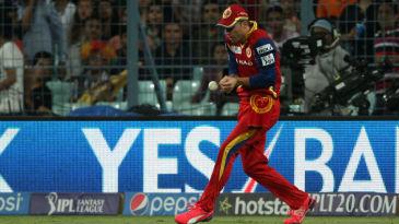 AB de Villiers drops a catch