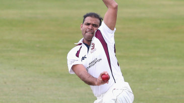 Muhammad Azharullah removed Gloucestershire's top three