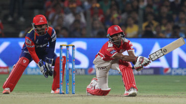 Wriddhiman Saha reverse sweeps during his 39