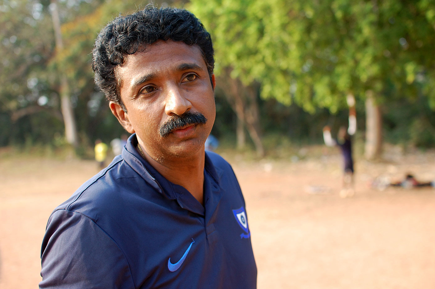 Biju George wasn't afraid of exposing young Sanju to the best bowlers in his academy